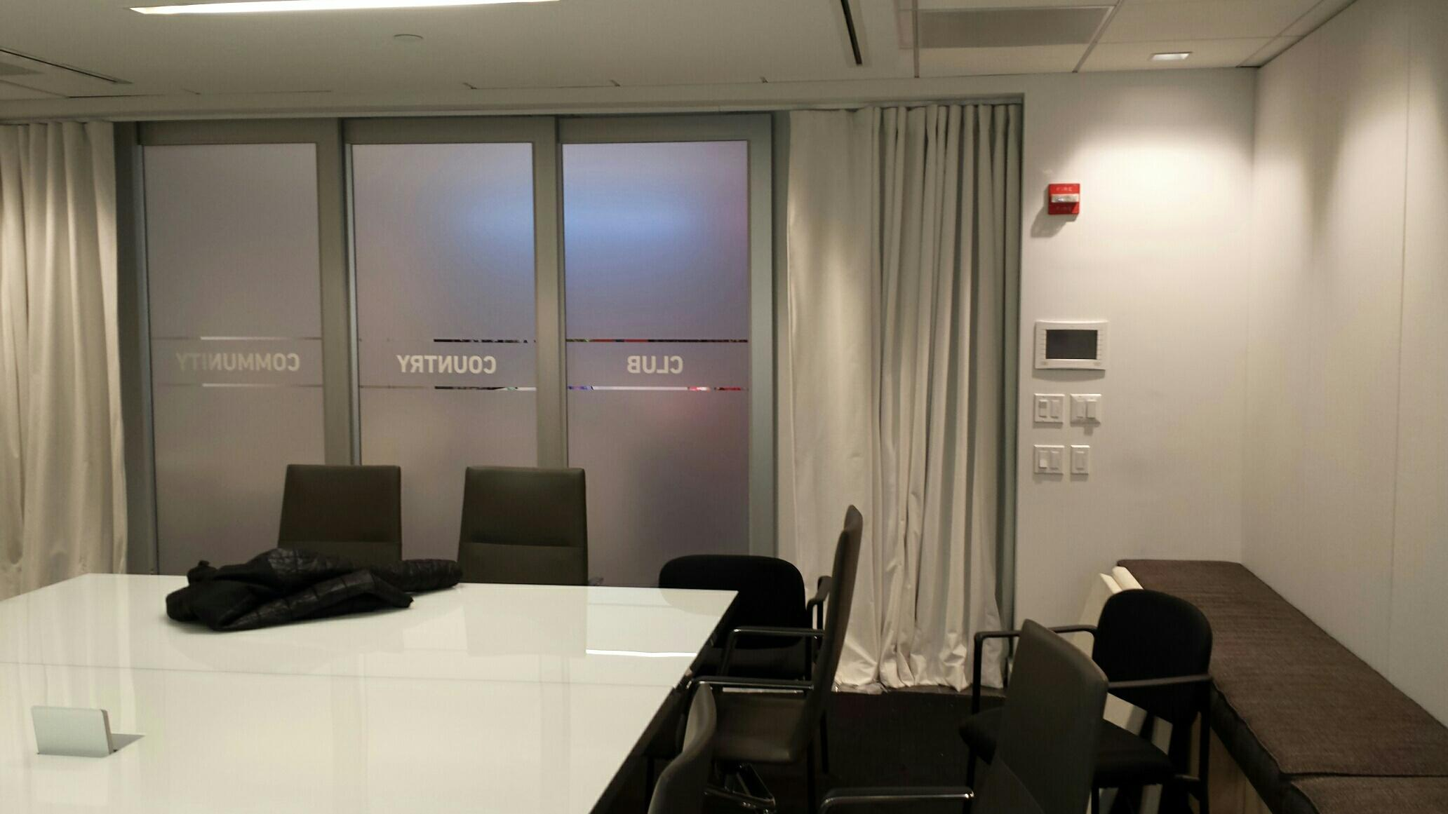 Work Space And Acoustic Privacy Acoustical Curtains