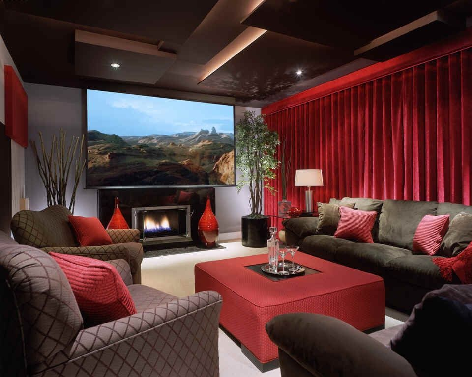 Home Theater Soundproofing Acoustical Curtains